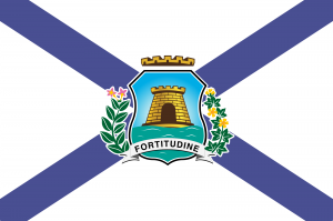 Bandeira Cidade de Fortaleza CE.